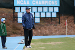 06 December 2008: UNC head coach Elmar Bolowich. The University of North Carolina Tar Heels defeated the Northwestern University Wildcats 1-0 at Fetzer Field in Chapel Hill, North Carolina in a NCAA Division I Men's Soccer tournament quarterfinal game.