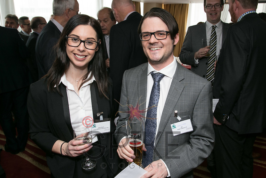 Pictured are Katie Filardi of Future Williams & Gyln Bank RBS and Kieron O' Connell of Potter Clarkson