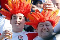 Photo: Omega/Richard Lane Photography. Italy v England. RBBS Six Nations. 10/02/2008. England fans.