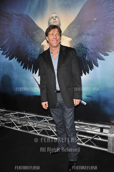 "Dennis Quaid at the world premiere of his new movie ""Legion"" at the Cinerama Dome, Hollywood..January 21, 2010  Los Angeles, CA.Picture: Paul Smith / Featureflash"