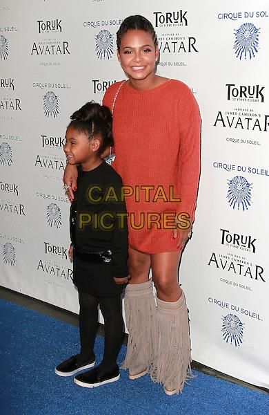 11 November 2016 - Los Angeles, California - Christina Milian. Cirque du Soleil &quot;Toruk - The First Flight&quot; Opening Night held at Staples Center. <br /> CAP/ADM/PMA<br /> &copy;PMA/ADM/Capital Pictures