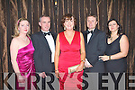 TBSC SOCIAL: Enjoying a great time at the Tralee Bay Sailing Club annual dinner dance at the Ballygarry House hotel on Saturday l-r: Elma and Mark Mulrooney, Tralee, Annette Dineen, The Spa and Michael and Sara Ronan, Tralee.