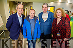 Dick Spring, Brendan O'Donnell (President IT Tralee), Denis Denny and Brid McElligott (VP Research and Development) attending the Kerry Sports Academy Open Day at the I T Tralee on Saturday.