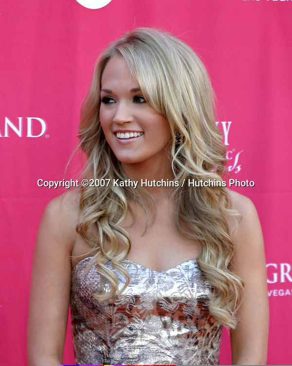 Carrie Underwood.Academy  of Country Music Awards.MGM Grand Garden Arena.Las Vegas, NV.May 15, 2007.©2007 Kathy Hutchins / Hutchins Photo....