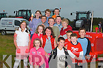 VINTAGE: Going for a drive on the Vintage Tractor at the Kerry Harvest Fair at Kingdom Mart, Tralee, on Sunday were children from Ballyroe. They were, Erin Quirke, Ryan O'Halloran, Karl Sheehy, Tom Moynihan, Leonie O'Connor, Aoife Sheehy, Norma O'Connor, Jack Moynihan, Thomas O'Connor, Tommy Sheehy, Emma Moynihan, Robert O'Connor, Teddy Moynihan, Danny Sheehy and Quinn O'Halloran.