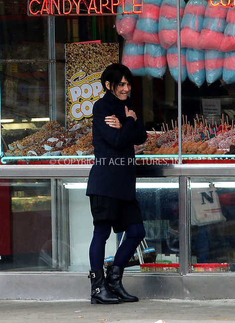 ACEPIXS.COM<br /> <br /> May 9 2014, New York City<br /> <br /> Actress Winona Ryder takes part in a phtot shoot for Rag and Bone in Coney Island on May 9 2014 in New York City<br /> <br /> By Line: Zelig Shaul/ACE Pictures<br /> <br /> ACE Pictures, Inc.<br /> www.acepixs.com<br /> Email: info@acepixs.com<br /> Tel: 646 769 0430