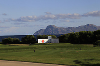 The 14th tee during the Pro-Am of the Challenge Tour Grand Final 2019 at Club de Golf Alcanada, Port d'Alcúdia, Mallorca, Spain on Wednesday 6th November 2019.<br /> Picture:  Thos Caffrey / Golffile<br /> <br /> All photo usage must carry mandatory copyright credit (© Golffile | Thos Caffrey)
