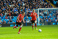 Barnsley's midfielder Adam Hammill (7) carries the ball through midfield during the Sky Bet Championship match between Sheff Wednesday and Barnsley at Hillsborough, Sheffield, England on 28 October 2017. Photo by Stephen Buckley / PRiME Media Images.