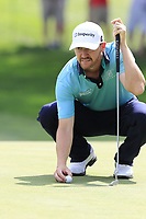 Jimmy Walker (USA) on the 9th green during Saturday's Round 3 of the WGC Bridgestone Invitational 2017 held at Firestone Country Club, Akron, USA. 5th August 2017.<br /> Picture: Eoin Clarke | Golffile<br /> <br /> <br /> All photos usage must carry mandatory copyright credit (&copy; Golffile | Eoin Clarke)
