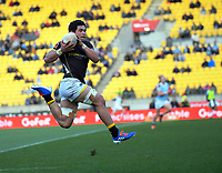 Action from the Mitre 10 Cup rugby match between Wellington Lions and Northland Taniwha at Westpac Stadium in Wellington, New Zealand on Saturday, 28 September 2019. Photo: Dave Lintott / lintottphoto.co.nz