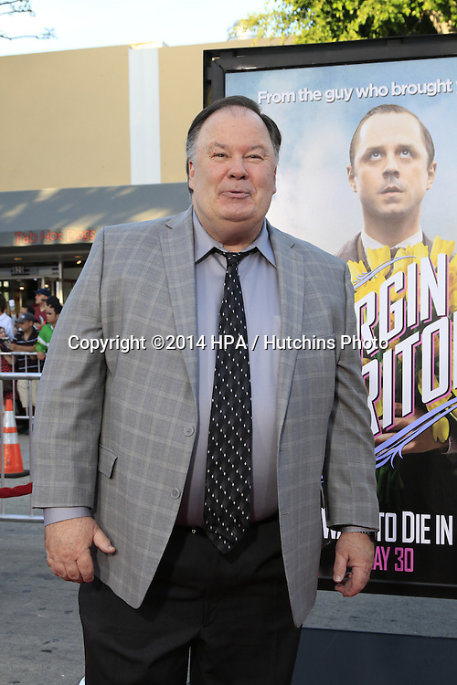 "LOS ANGELES - MAY 15:  Dennis Haskins at the ""A Million Ways To Die In The West"" World Premiere at Village Theater on May 15, 2014 in Westwood, CA"