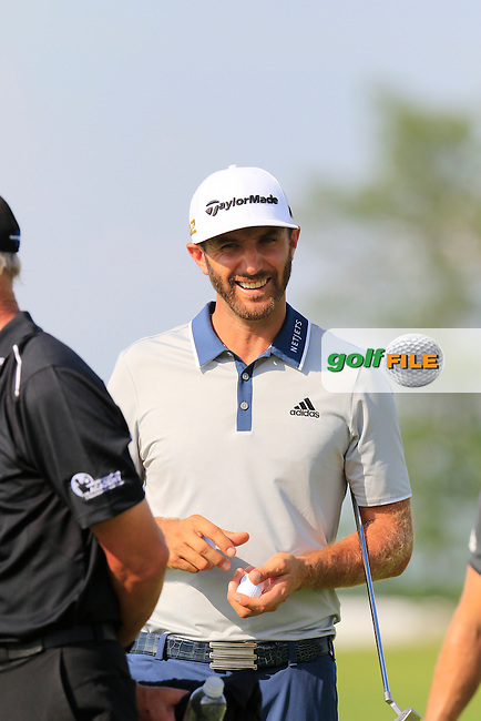 Dustin Johnson (USA) during Wednesday's Practice Day of the 2016 U.S. Open Championship held at Oakmont Country Club, Oakmont, Pittsburgh, Pennsylvania, United States of America. 15th June 2016.<br /> Picture: Eoin Clarke | Golffile<br /> <br /> <br /> All photos usage must carry mandatory copyright credit (&copy; Golffile | Eoin Clarke)