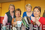 HOSPICE: At the fundraising coffee morning for the Hospice Foundation at the CYMS Hall in Killorglin on Thursday last were, front, l-r: Kay Woods, Colette Boyle. Back, l-r: Geraldine Looney, Josephine Foley.   Copyright Kerry's Eye 2008