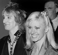 Rod Stewart Olivia Newton John 1979<br /> Photo By John Barrett-PHOTOlink.net / MediaPunch
