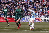 10th February 2019,  Estadio Municipal de Butarque, Leganes, Spain; La Liga football, Leganes versus Real Betis; Youssef En-Nesyri (CD Leganes)  scores to make it 3-0