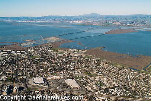 aerial photograph East Palo Alto, Santa Clara county, California