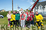 l-r  Ciara Collins, Lee Sugrue, Bobby Sugrue, Kayleigh Williams, Se O'Neill, Alison Moriarty, Lucy Williams, Ron O'Neill, Emily Rose Moriarty and Terry Sheehy at the Fenit Streetfest local community gathering on Sunday