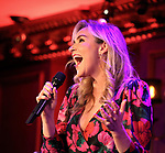 "Betsy Wolfe performing a press preview of  ""Betsy Wolfe - All Bets Are Off""  at Feinsteins/54 Below on February 21, 2019 in New York City."