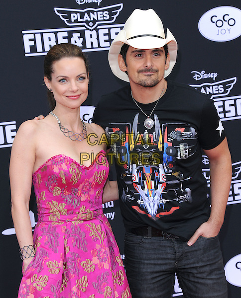 Brad Paisley and Kimberly Williams-Paisley attends The Disney 'Planes: Fire &amp; Rescue' premiere held at The El Capitan Theatre in Hollywood, California on July 15,2014                                                                               <br /> CAP/DVS<br /> &copy;DVS/Capital Pictures