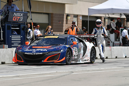 Pirelli World Challenge<br /> Grand Prix of Utah<br /> Utah Motorsports Campus, Tooele, UT USA<br /> Sunday 13 August 2017<br /> Peter Kox/ Mark Wilkins<br /> World Copyright: Richard Dole/LAT Images