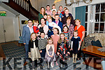Lorraine and Timmy Lucey from Kilcummin celebrated christening of their son Gavin surrounded by friends and family in the Avenue Hotel, Killarney last Saturday night.