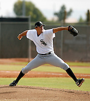 Taylor Thompson - Chicago White Sox 2009 Instructional League .Photo by:  Bill Mitchell/Four Seam Images..