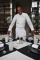 Europe/Monaco/Monte Carlo: Marcel Ravin chef du Restaurant: Le Blue bay au Monte Carlo Bay