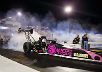 Sep 29, 2017; Madison , IL, USA; NHRA top fuel driver Antron Brown during qualifying for the Midwest Nationals at Gateway Motorsports Park. Mandatory Credit: Mark J. Rebilas-USA TODAY Sports