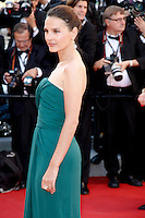 """Cannes,France. May 16 2012, Virginie Ledoyen attend the """" Moonrise Kingdom """" Premiere at the Palais des Festival During the 65th Annual Cannes Film Festival"""