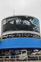 ATENCAO EDITOR IMAGEM EMBARGADA PARA VEICULOS - SAO PAULO, SP, 23 OUTUBRO 2012 - SALAO INTERNACIONAL DO AUTOMOVEL - 27 Salao Internacional do Automovel em Sao Paulo, no Anhembi regiao norte da capital paulista, nesta terca-feira, 23. O salao sera aberto ao público de 24 de outubro a 04 de novembro. Pela primeira vez, o salao brasileiro, inaugurado em 1906, tera dois lancamentos de veiculos globais e contara com varios executivos do primeiro escalao das principais fabricantes mundiais como Volkswagen, General Motors e Honda. O evento deste ano terá participacao recorde de 49 marcas e 500 modelos expostos. (FOTO: VANESSA CARVALHO / BRAZIL PHOTO PRESS).