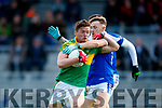 Oran Clifford South Kerry in action against Barry John Keane  Kerins O'Rahillys in the Kerry Senior Football Championship Semi Final at Fitzgerald Stadium on Saturday.