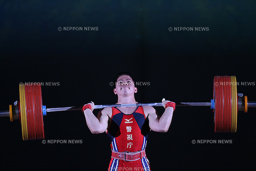 Yoichi Itokazu, <br /> MAY 21, 2016 - Weightlifting : <br /> All Japan Weightlifting Championship 2016 Men's -62kg <br /> at Yamanashi Municipal Gymnasium, Yamanashi, Japan. <br /> (Photo by AFLO SPORT)