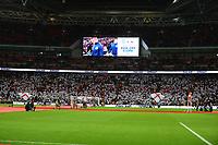 Choreo beim Einlaufen der Mannschaften - 10.11.2017: England vs. Deutschland, Freundschaftsspiel, Wembley Stadium