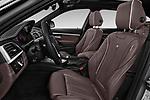 Front seat view of a 2018 Alpina B3 S Touring Base 5 Door Wagon front seat car photos