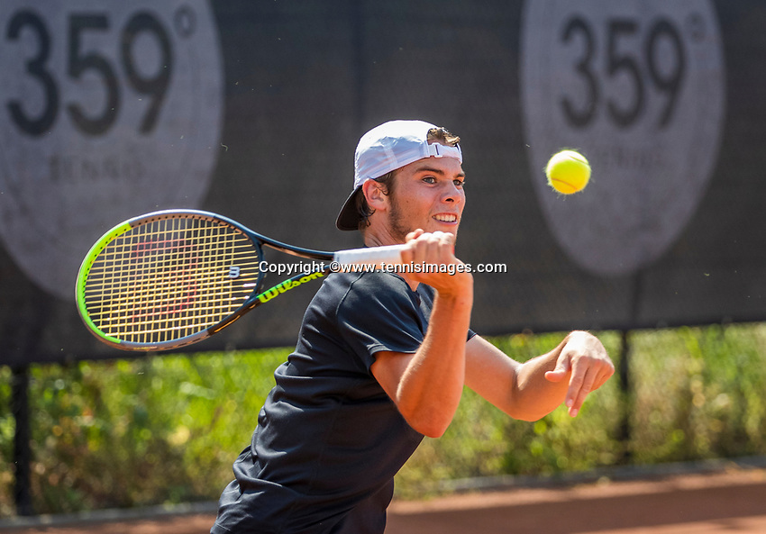 Amstelveen, Netherlands, 10 August 2020, NTC, National Tennis Center, Ryan Nijboer (NED)  <br /> Photo: Henk Koster/tennisimages.com
