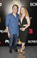 HOLLYWOOD,CA - OCTOBER 18: Kevin Sluder and Jennifer Sluder attend the TRASH FIRE / Screamfest red carpet at TCL Chinese Theater in Hollywood, California on October 18, 2016. Credit: Koi Sojer/Snap'N U Photos /MediaPunch