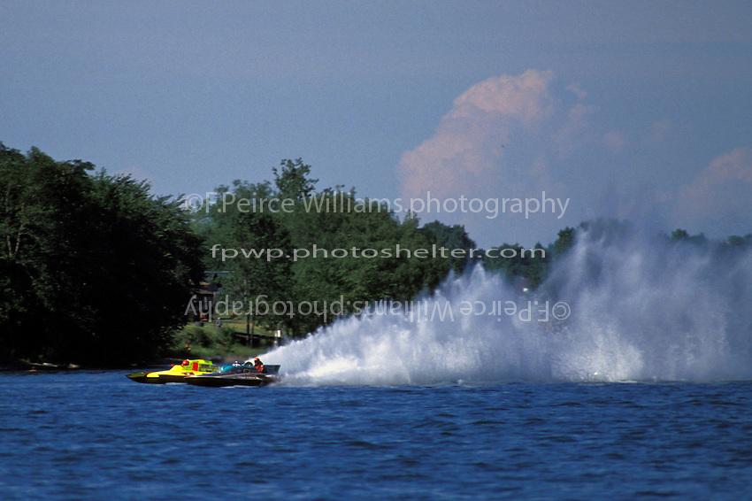 """Mike Endres, GP-17 """"The Beam Of Hope"""" and GP-242, Tonawanda 1990"""
