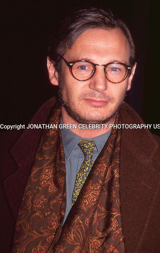 Liam Neeson 1992 by Jonathan Green