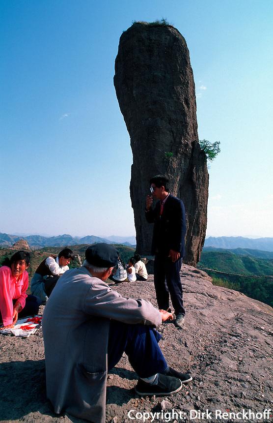 Hammerfelsen bei Chengde, China, Unesco-Weltkulturerbe