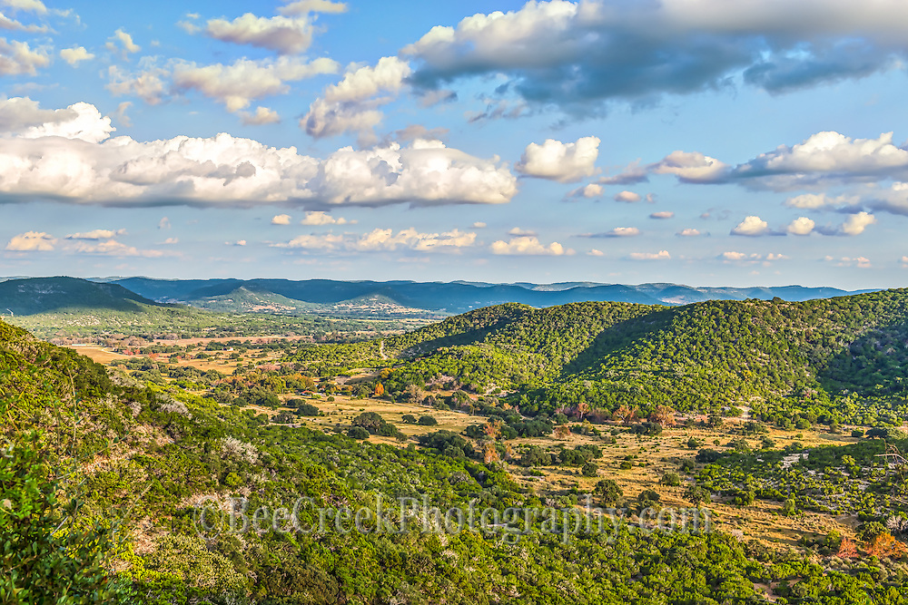 This is another visita that we took of the Texas Hill country landscape.  It was a lovely day with these nice clouds over the hills with the shadows over the hills.  There was not much color this year in the trees, some years it is amazing but not this year.   Yet still a wonderful scenic vista.