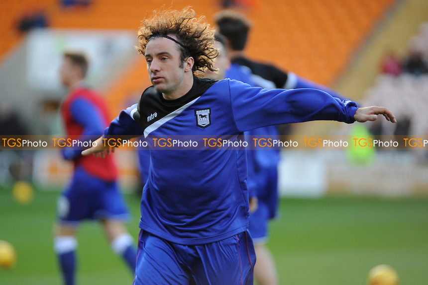 New signing Stephen Hunt of Ipswich Town starts on the bench - Blackpool vs Ipswich Town - Sky Bet Championship Football at Bloomfield Road, Blackpool, Lancashire - 09/11/13 - MANDATORY CREDIT: Greig Bertram/TGSPHOTO - Self billing applies where appropriate - 0845 094 6026 - contact@tgsphoto.co.uk - NO UNPAID USE