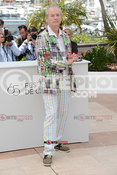 "Bill Murray attending the ""Moonrise Kingdom"" Photocall during the 65th annual International Cannes Film Festival in Cannes, 16th May 2012...Credit: Timm/face to face /MediaPunch Inc. ***FOR USA ONLY***"