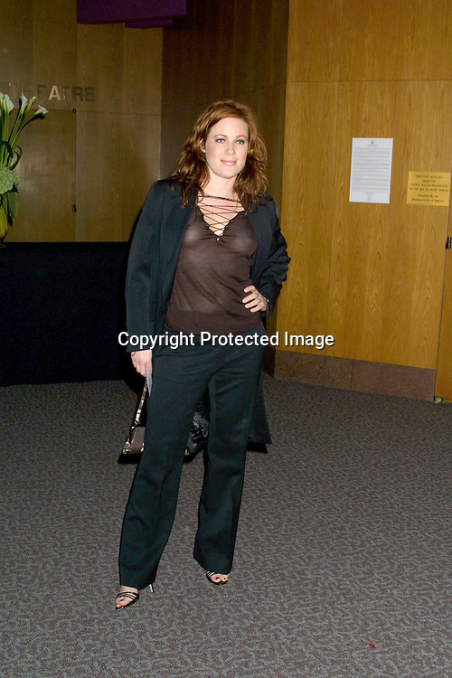 """©2003 KATHY HUTCHINS / HUTCHINS PHOTO.BENEFIT SCREENING OF DOCUMENTARY ABOUT.V-DAY, """"UNTIL THE VIOLENCE STOPS"""".DIRECTORS GUILD OF AMERICA.W. HOLLYWOOD, CA.FEBRUARY 24, 2003..ELISA DONAVAN"""