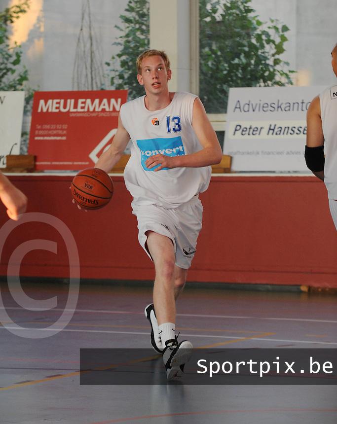Kortrijk Sport CB Fanion : Rienert Torreele.foto VDB / BART VANDENBROUCKE