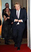The Sun Military Awards 2020 held at the Banqueting House, Whitehall, London on February 6th 2020<br /> <br /> Photo by Keith Mayhew<br /> <br /> Prime Minister Boris Johnson MP has tested positive for coronavirus, Downing Street has announced<br /> Mr Johnson has mild symptoms and will self-isolate in Downing Street.<br /> He will still be in charge of the government's handling of the crisis, the statement added.