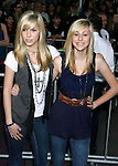 "HOLLYWOOD, CA. - February 24: Savvy and Mandy arrive at the Los Angeles premiere of ""Jonas Brothers: The 3D Concert Experience"" at the El Capitan Theatre on February 24, 2009 in Los Angeles, California."