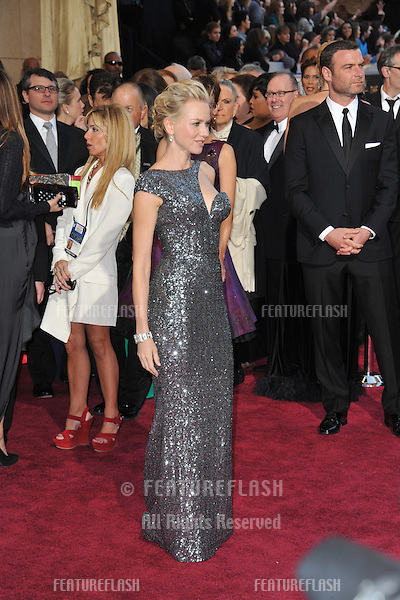 Naomi Watts at the 85th Academy Awards at the Dolby Theatre, Hollywood..February 24, 2013  Los Angeles, CA.Picture: Paul Smith / Featureflash