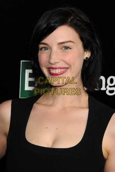 Jessica Pare<br /> &quot;Breaking Bad&quot; Final Episodes Los Angeles Premiere Screening held at Sony Pictures Studios, Culver City, California, USA, 24th July 2013.<br /> portrait headshot black  smiling <br /> CAP/ADM/BP<br /> &copy;Byron Purvis/AdMedia/Capital Pictures