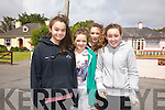 Taking part in the 5K fundraising run in Valentia on Sunday were l-r; Lidia O'Sullivan, Sophie Egan, Deimante Deikute & Aoife Lynch.