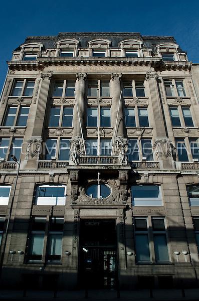 The Antwerp Diamond Exchange Bourse (Belgium, 18/03/2009)